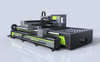 Multifunctional metal profile processing plate and tube laser cutting machine