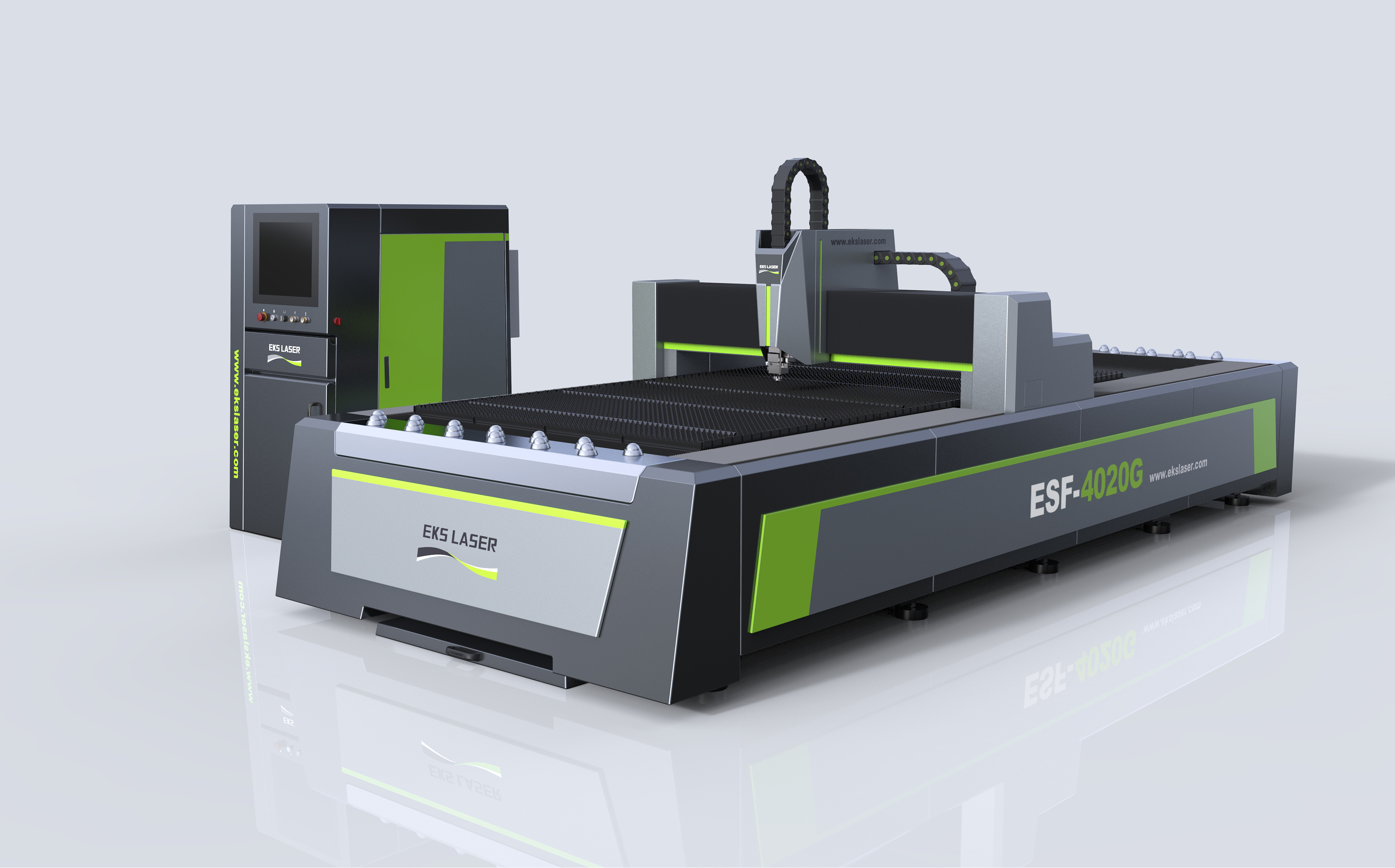 High precision galvanized sheet fiber laser cutting machine