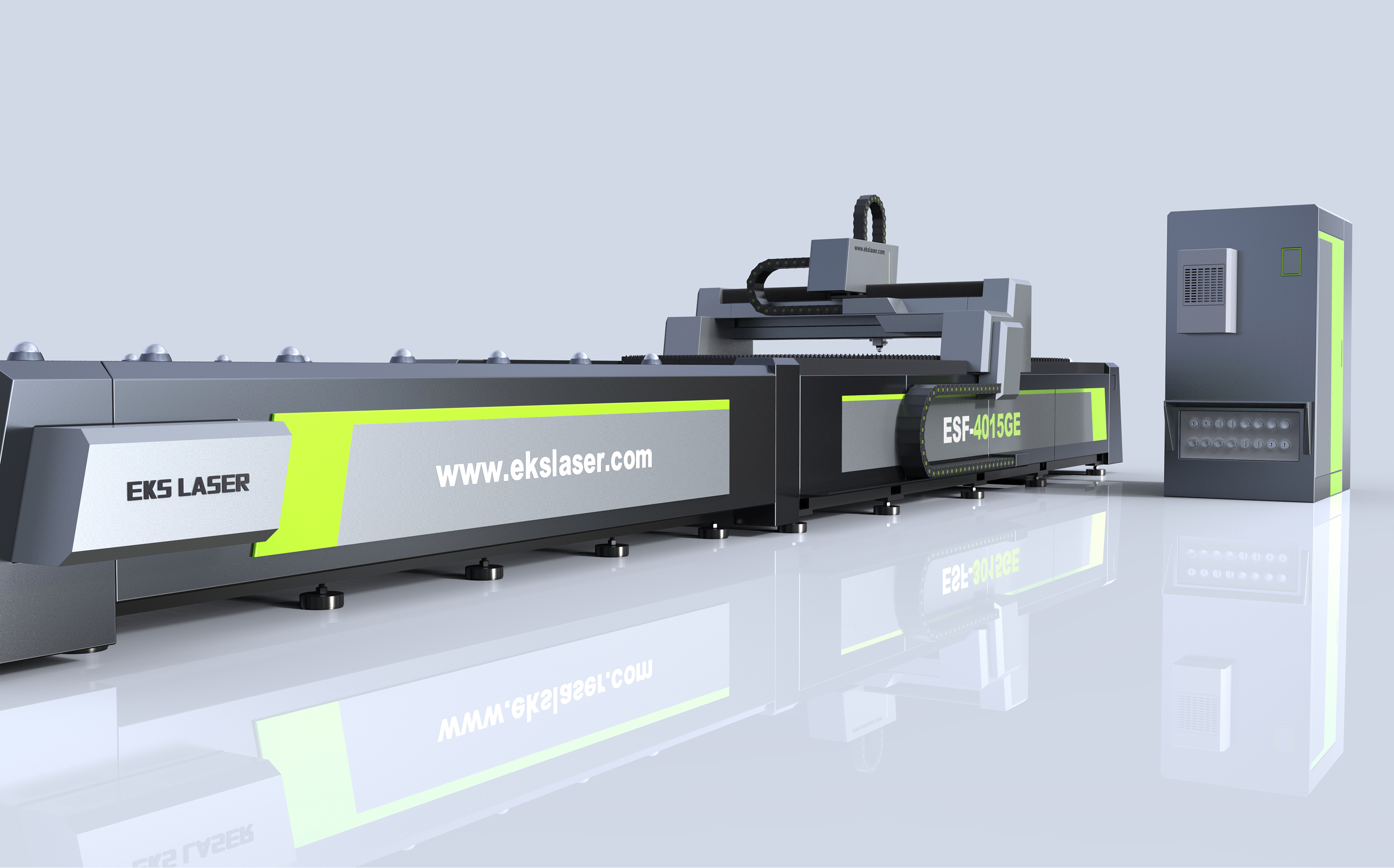 Advanced technology exchange table CNC laser cutting machine